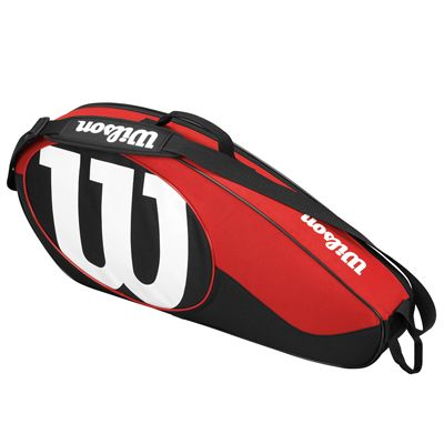 Wilson Match II 3 Racket Bag - Side