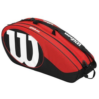 Wilson Match II 6 Racket Bag - Side
