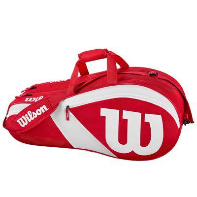 Wilson Match III 6 Racket Bag - Side