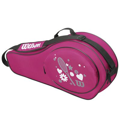Wilson Match Junior 3 Racket Bag - Pink