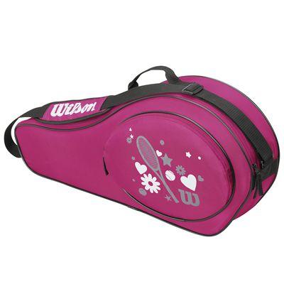 Wilson Match Junior 3 Racket Bag - Pink