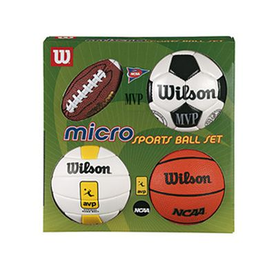 Wilson Micro Sports 4Ball Basketball Kit