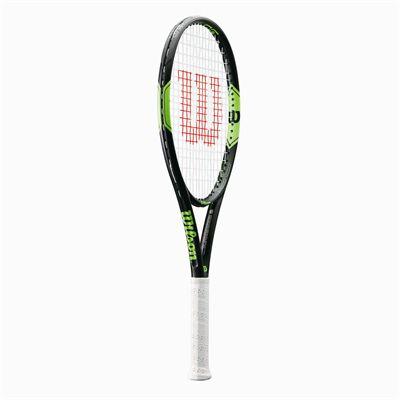 Wilson Milos Lite 105 Tennis Racket - Angled