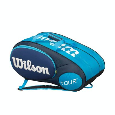 Wilson Mini Tour 6 Racket Bag - Blue
