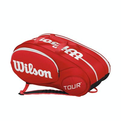 Wilson Mini Tour 6 Racket Bag - Red