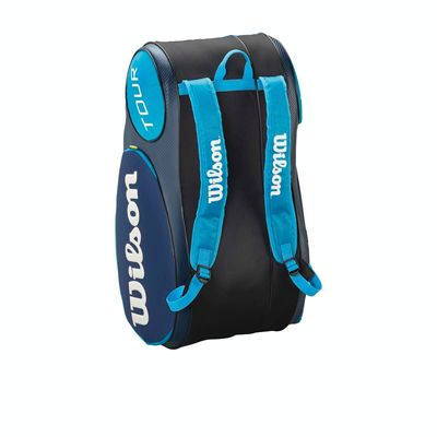 Wilson Mini Tour 6 Racket Bag - Wilson Mini Tour 6 Racket Bag - Blue Image