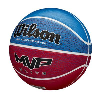 WilsonMVP Elite Basketball - BlueRed - side