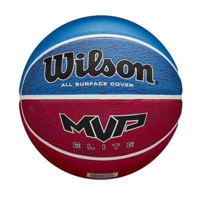 Wilson MVP Elite Basketball - BlueRed
