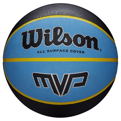 Wilson MVP Mini Basketball - Black