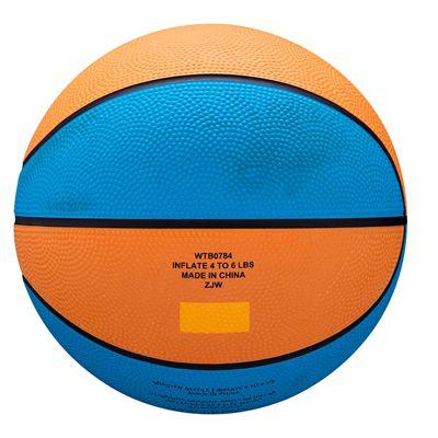 Wilson MVP Mini Basketball - Blue - Back