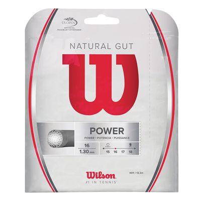 Wilson Natural Gut Tennis String Set