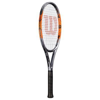 Wilson Nitro 100 Tennis Racket-Angled