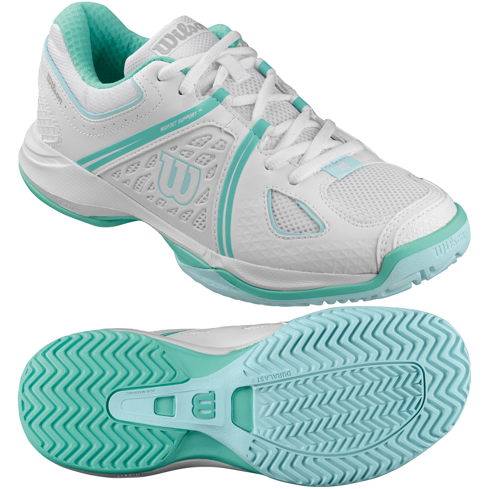 Wilson nVision Ladies Tennis Shoes SS16  5 UK