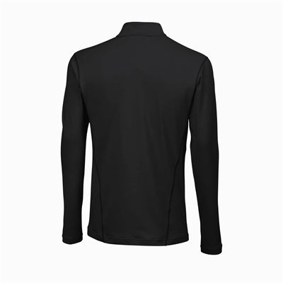 Wilson Nvision Zip Neck Mens Long Sleeve Top - Back