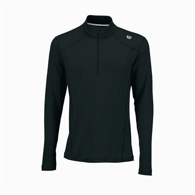 Wilson Nvision Zip Neck Mens Long Sleeve Top