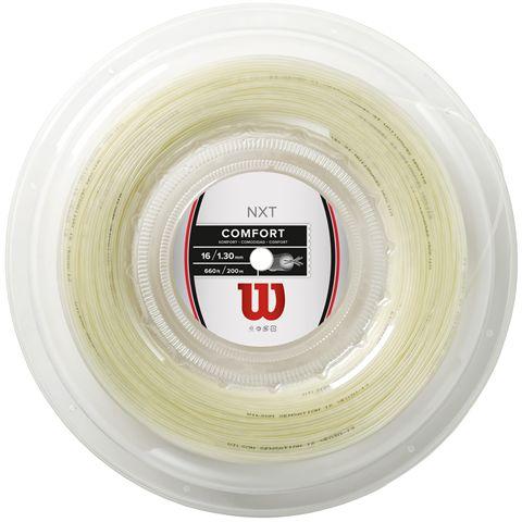 Wilson NXT Comfort 16 Tennis String - 200m Reel
