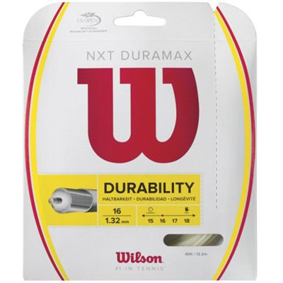 Wilson NXT Duramax 16 Tennis String Set Packed