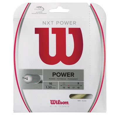 Wilson NXT Power 16 Tennis String Set