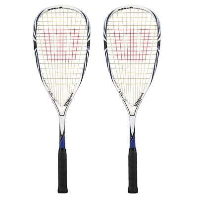 Wilson Oneforty BLX Squash Racket Double Pack