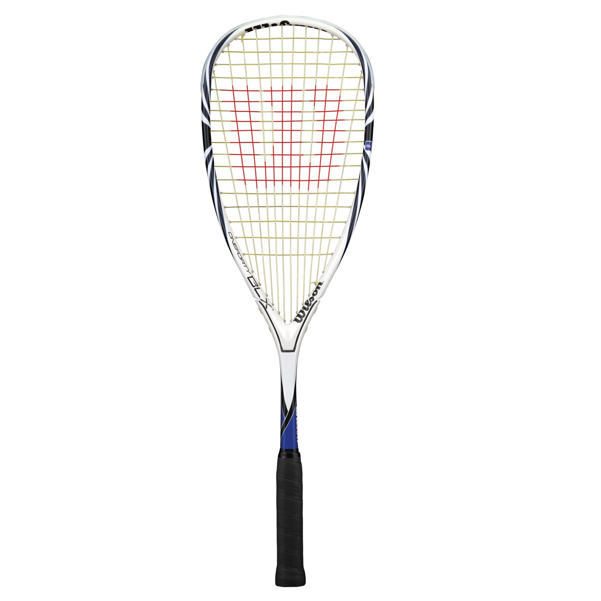 how to hold a squash racquet