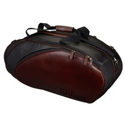 Wilson Premium Leather 6 Racket Bag
