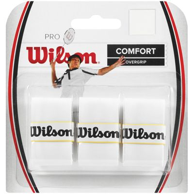 Wilson Pro Badminton Overgrip - Pack of 3