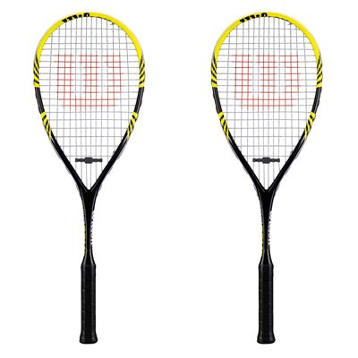 Wilson Pro Comp Squash Racket Double Pack