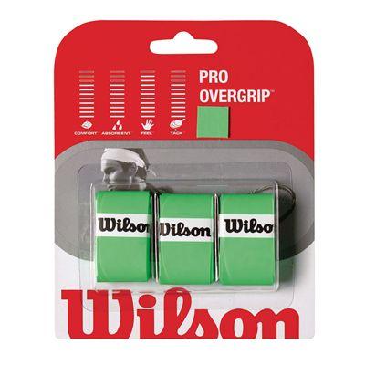Wilson Pro Overgrip (3 grips) - Green