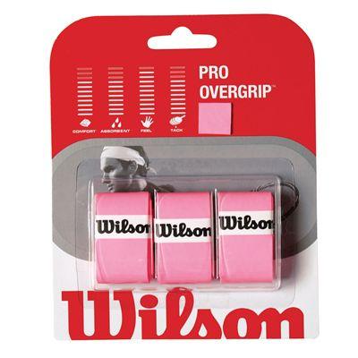 Wilson Pro Overgrip (3 grips) - Pink