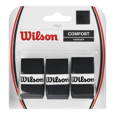 Wilson Pro Overgrip - 3 Grips - Black