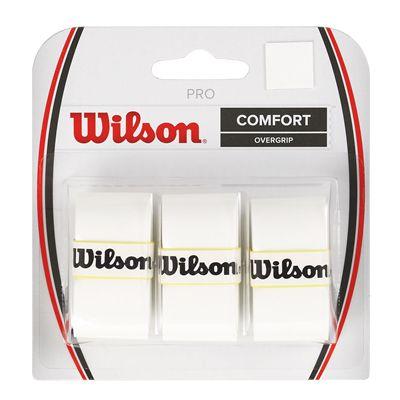 Wilson Pro Overgrip - 3 Pack - White