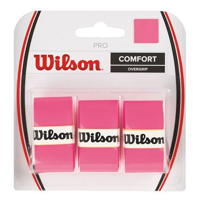 Wilson Pro Overgrip - 3 Pack - Pink