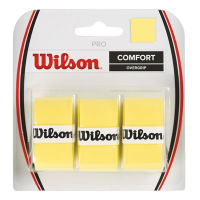 Wilson Pro Overgrip - 3 Pack - Yellow