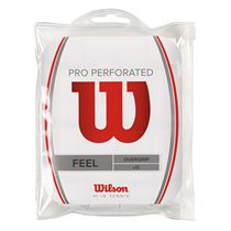 Wilson Pro Overgrip Perforated - 12 pack