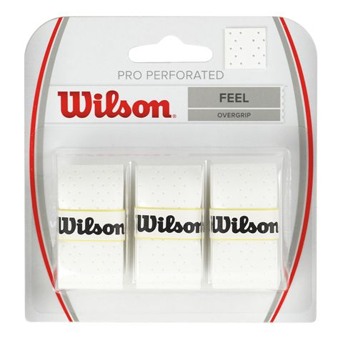 Wilson Pro Overgrip Perforated - 3 pack