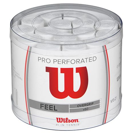 Wilson Pro Overgrip Perforated - Bowl of 60