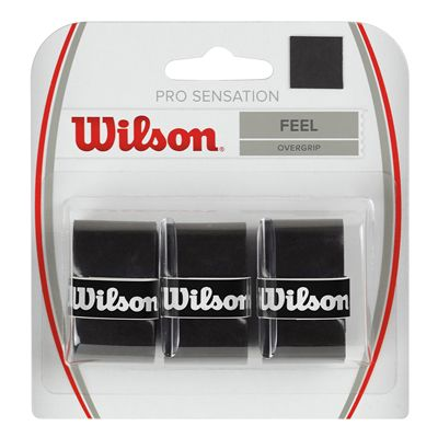 Wilson Pro Overgrip Sensation - 3 Pack - Black