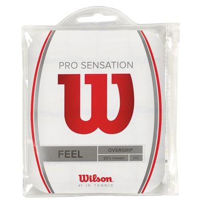 Wilson Pro Sensation Overgrip - Pack of 12