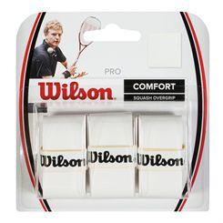 Wilson Pro Squash Overgrip Pack of 3