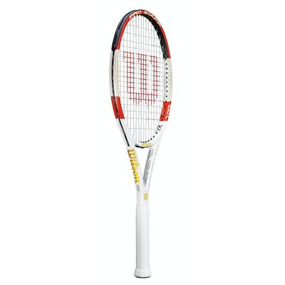 Wilson Pro Staff 100L Tennis Racket - Side View
