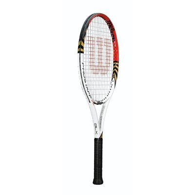 Wilson Pro Staff 26 BLX Junior Tennis Racket-side