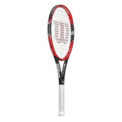 Wilson Pro Staff 97 LS Tennis Racket - Side View