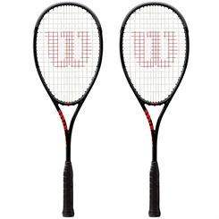 Wilson Pro Staff Countervail Squash Racket Double Pack