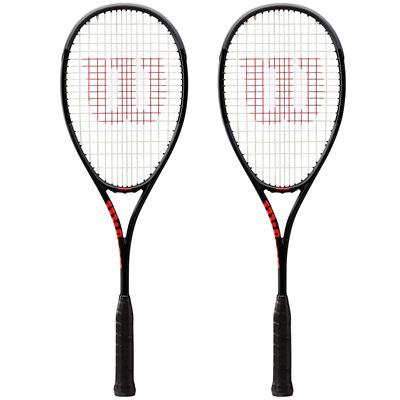 Wilson Pro Staff Countervail Squash Racket Double Pack AW19