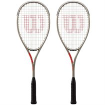 Wilson Pro Staff Light Squash Racket Double Pack