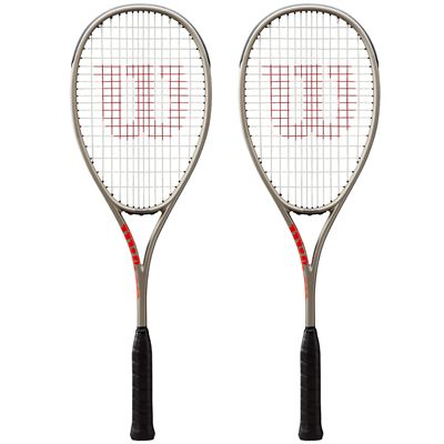 Wilson Pro Staff Light Squash Racket Double Pack AW19