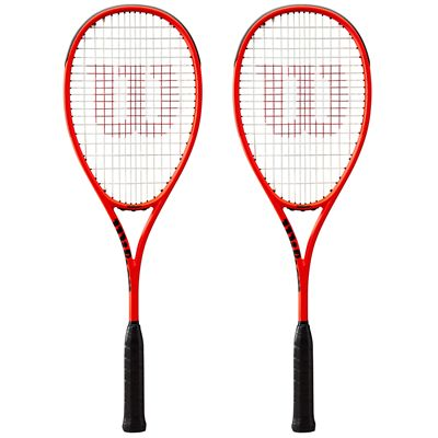 Wilson Pro Staff Ultralight Squash Racket Double Pack AW19