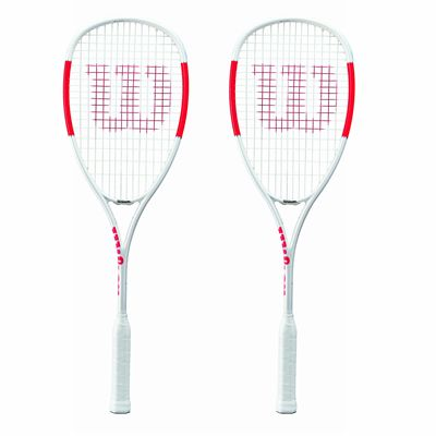 Wilson Pro Staff Ultralight Squash Racket Double Pack