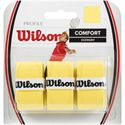 Wilson Profile Badminton Overgrip-Pack of 3-Yellow