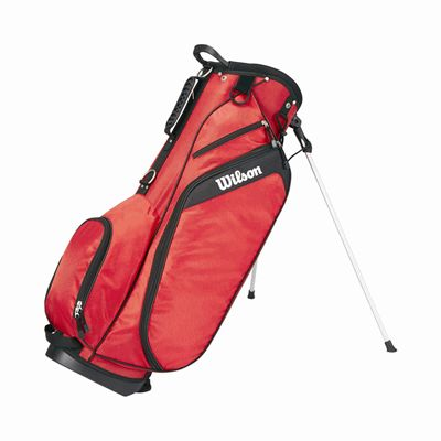 Wilson Profile Golf Carry Bag - Red